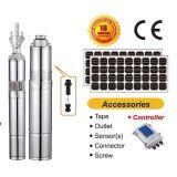 Solarpumpe, Solarwasser-Pumpe, angeschaltene Wasser-Solarpumpe, versenkbare Wasser-Solarpumpe