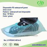 Wegwerf-PET wasserdichter grüner Schuh-Deckel