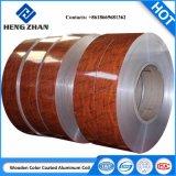 La toiture et le plafond de bois de PE/PVDF bobine en aluminium pour la construction et de décoration