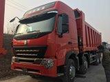HOWO A7 8X4 12の車輪のダンプトラック