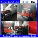 Máquina plástica de la protuberancia de la estera gruesa impermeable y antirresbaladiza de la bobina del alambre del PVC
