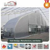 Großes im Freienkurven-Dach-Aluminiumrahmen Belüftung-Deckel-Ereignis-Zelte für Tradeshow und Ausstellung