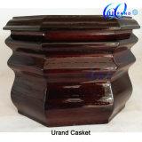 Urnes en bois en gros à haute brillance de première qualité de cerise solide