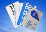 Film protecteur réutilisable respectueux de l'environnement de PE de transparence d'enveloppe en plastique