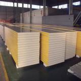 El panel de pared de emparedado de la espuma de EPS/Rockwool/PU para el almacén
