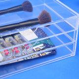 Multifuncional de acrílico com 3 gaveta de camada de caixa de armazenamento