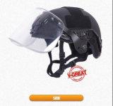 バイザーが付いている速いヘルメット