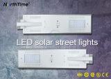 lámpara de calle toda junta del alto brillo LED de 6W-120W Sunpower con Bridgelux