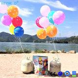 El tanque disponible del cumpleaños Balloons+Helium del tanque +Happy del helio