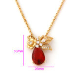 China Wholesale Xuping 18k Gold-Plated Luxury Long Woman Necklace