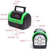 Sistema de Ahorro de energía solar la luz solar para iluminación del hogar y el teléfono, la carga 3W Lámpara Solar