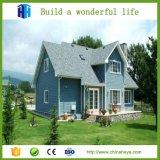 Acero ligero y chalet de acero de lujo prefabricado de las casas modernas