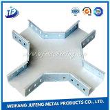 Cabo de estamparia de metal de precisão personalizada Bridge para protecção de cabos