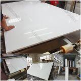 камень кварца сляба 20mm чисто белый проектированный каменный большой