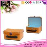 Naranja Cubiertas de gama alta de papel Kid caja de almacenaje plegable