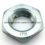Noix encochées minces Hex (M6-M68 DIN937)