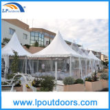 5X5m 6X6m Clear Hochzeitsfest Tent Pagoda Marquee