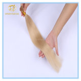 Gezeichnete Platin-das blonde Farben-Doppelte der Qualitäts-#60 spitze ich Extensions-Haar mit vollständigem Verkaufspreis Ex-006
