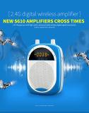 Microfone de ioga portátil sem fio Amplificadores de voz sem fio de alimentação