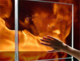 Vidrio resistente al fuego con el vidrio laminado claro