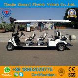 Тележка гольфа Zhongyi 8 Seater электрическая с задним сиденьем