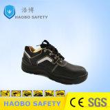 Стальную пластину мужчин кожаные обувь обувь с СВЕТООТРАЖАЮЩИЕ ПОЛОСЫ