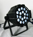 LED PAR64 18X15W RGBWA + UV 6 In1 Zoom PAR pode lavar a luz
