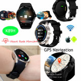 de Slimme Telefoon van het Horloge 3G/WiFi Bluetooth met de Monitor van het Tarief van het Hart K98h