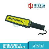 Détecteur de métaux tenu dans la main de modes multiples d'alarme avec le commutateur de réglage de sensibilité