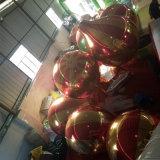ショーのためのミラーの熱気の気球