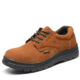 Nuburk Chaussures de sécurité en cuir véritable style de loisirs