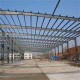 Taller prefabricado de la estructura de acero del edificio industrial