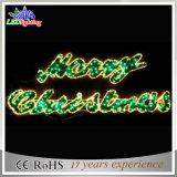 Festliches Glittery LED-Seil-Licht über Straßen-Weihnachtszeichen-Motiv-Lichtern (OB-KL-42004)