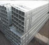 Tubo de acero de Gavanized de la INMERSIÓN caliente de ASTM A252/tubo de acero galvanizado cuadrado