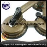 Drei des Stahlglasder saugcup-/Saugen Cup Heber-Wt-3803