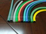 O PVC flexível as mangueiras de vácuo de extensão do tubo entrançado de Nylon