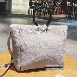 Neue Art-Dame-Handbeutel-Frautote-Beutel-Form-Pelz-Einkaufstasche mit preiswertem Preis Sy8671
