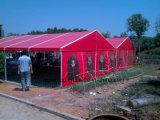 PVCは塗った印刷の防水シートのトラックカバー屋根ふき(1000dx1000d 18X18 510g)に