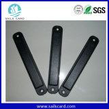 Etiqueta del Anti-Metal RFID del ABS con la etiqueta engomada de los 3m RFID