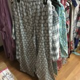 Flanela de algodão Todo impresso pijamas