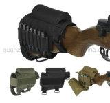 Fusil tactique réglable Buttstock de canon de garniture de reste de joue de polyester d'OEM