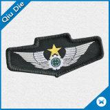Distintivo tessuto truppe personalizzato di figura dell'ala per l'uniforme