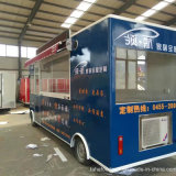 Tipo multifunzionale carrelli del bus del mercato europeo E200 dell'alimento da vendere