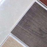 Plancher recouvert de vinyle texturés commerciale ignifugé