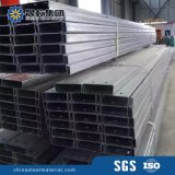 Purlins galvanizados dos frames de aço de C para a construção de aço