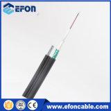 Preço Self-Supporting aéreo do cabo da fibra óptica do revestimento do PE Figure8 (GYXTC8S)