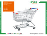 Тележка вагонетки покупкы оборудования супермаркета