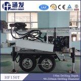 Hf150t máquina para perfuração de poços de água portátil