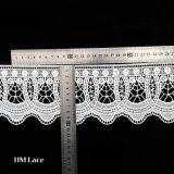 Testo fisso africano L162 del merletto di gallone del fiore della Svizzera Changle dei tessuti del merletto della fabbrica
