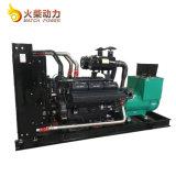 Tipo de silencioso Weichai 500kVA gerador do motor Diesel com seis cilindros arrefecidos a água